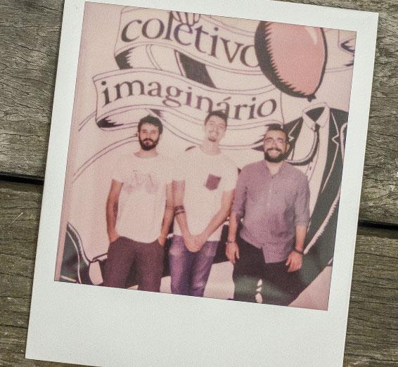 Integrantes do Coletivo Imaginário